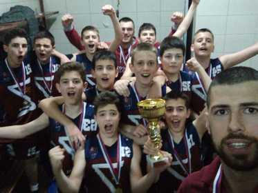 KK Zvornik basket U12 - Šampioni Republike Srpske 2019