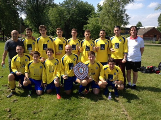 2013-14 Maccabi Mcr 2nd (MJSL Champions)