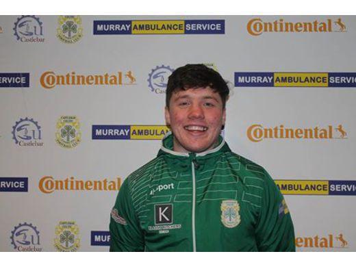 Jason Hunt gave Castlebar Celtic the lead against Ballina Town