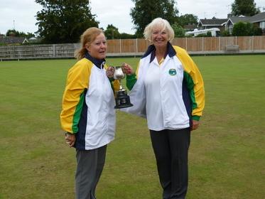 Pairs Winners 2019 - Sharon Boyce & Elaine Donovan (Martham)