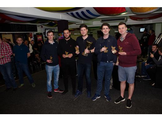 Snooker Centre A - KO Cup Winners & Prem Runners-Up