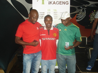 Tommy , Chairman Bokang & Papa G