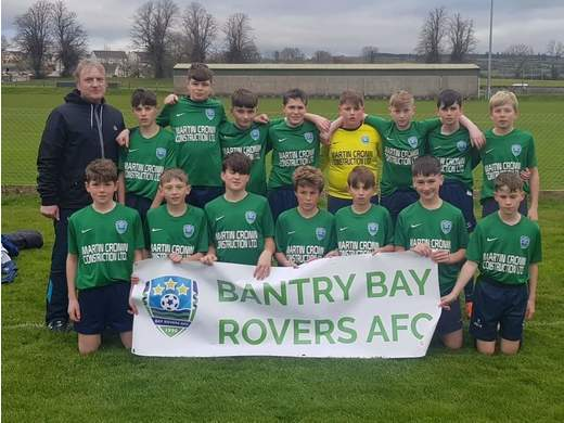 Bay Rovers to face Shamrock Rovers!