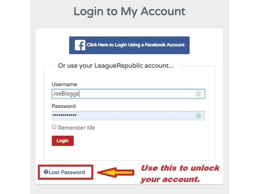 Locked Out of your account?