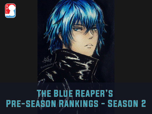 Top 5 Teams In Each Division According To The Blue Reaper (Season 2)