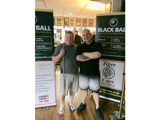 E&DBBPL Round Robin Pairs semi-finalists - Wayne Fletcher & Andy Robinson