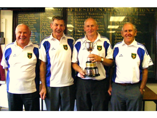 Berwick Senior Fours Winners 2014