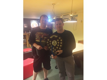 Open Doubles Winners 2016 Ant Palmer & Martin Ray