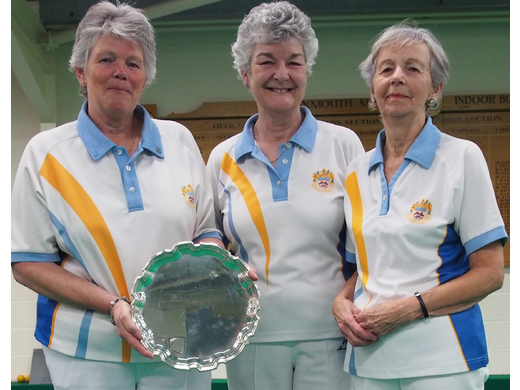 Janine Orchard, Catherine King & Jan Roberts - Ladies Self select triples