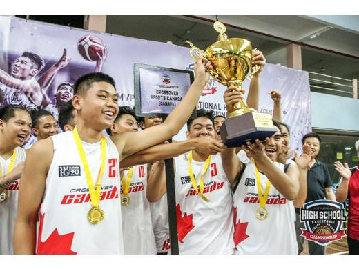 Crossover Canada Captures 5th MVP Cup International High School Basketball Championships in Malaysia