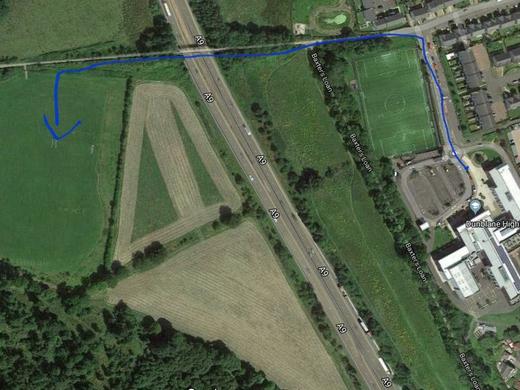 Dunblane grass pitch