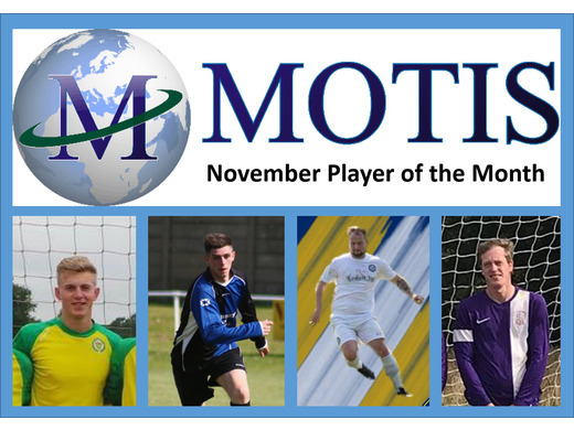 Motis Business Centre November Player of the Month