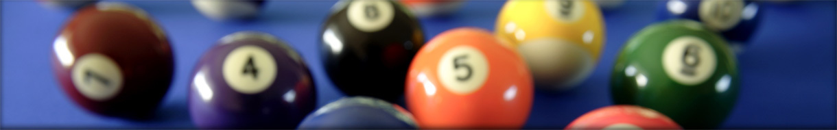 Allegan County Men's Pool League - Header Background Image