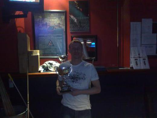 Division 2 Winner Carl Gamble