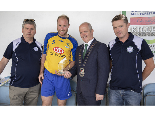 Tuohy Cup Final Man Of The Match Michael McDonnell (Snugboro United)