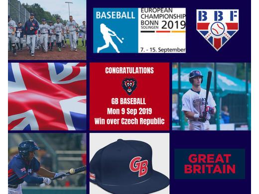 Great Britain National Baseball Team wins