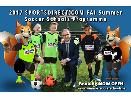 FAI Summer Soccer School camp in Solar 21 Park