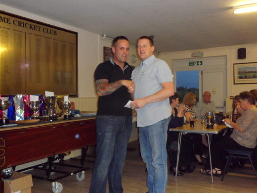 Paul Waddington - captains cup runner up