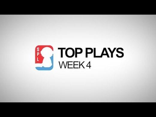 Top Plays - Week 4