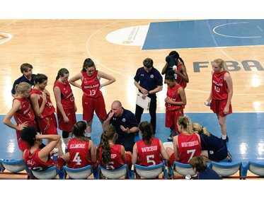 U16 Women's Team Talk