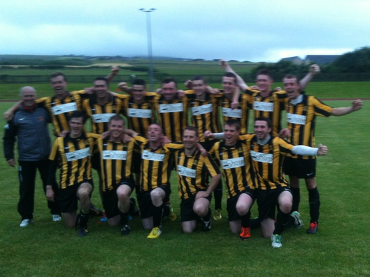 Rovers celebrate Craigmyle Cup victory