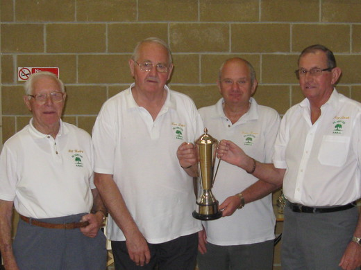 EXETER & DISTRICT LEAGUE DIVISION 2 WINNERS 2009/2010 - SILVERTON B