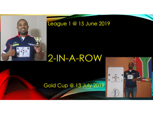 LEAGUE 1 + GOLD CUP : Bevin Reed