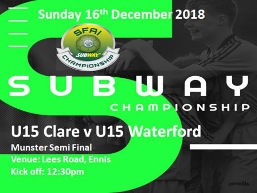 Clare U12's Reach Plate Quarter Final & Clare U16's reach Plate Finals