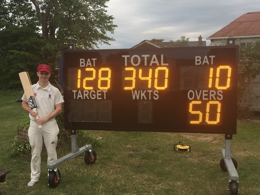 JJ Smith 128* vs Dinton 2nd XI 25 May 19