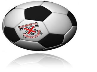 Made up Clydebank FC ball