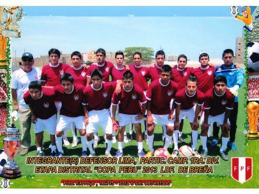 Tercer lugar Distrital Liga de Breña 2013.