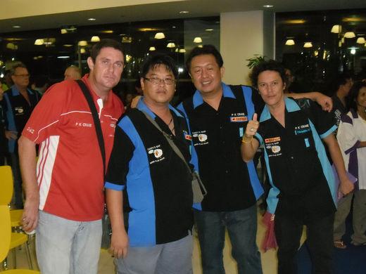 Chaz, Pataya, Santi & Klang
