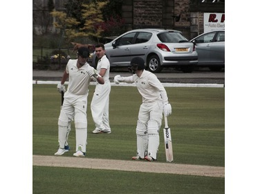 Pro Kelly Smuts & Opener Benjamin Pearson's 143 run partnership v G'Harwood.
