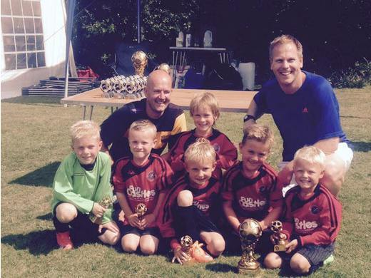 U7s win Loughborough Dynamo Summer Cup