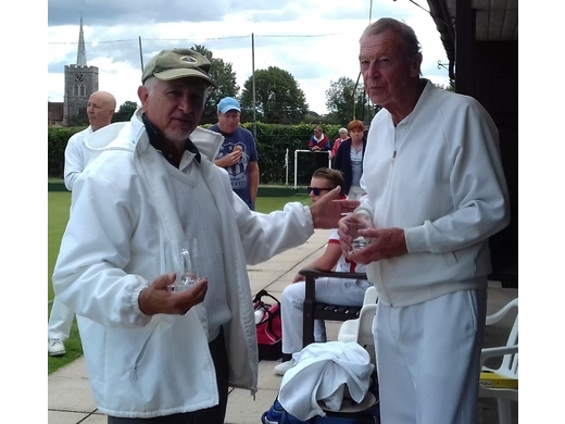 2020 - Open Pairs Finalists - Andy Richardson & Ed Collins (Clavering)