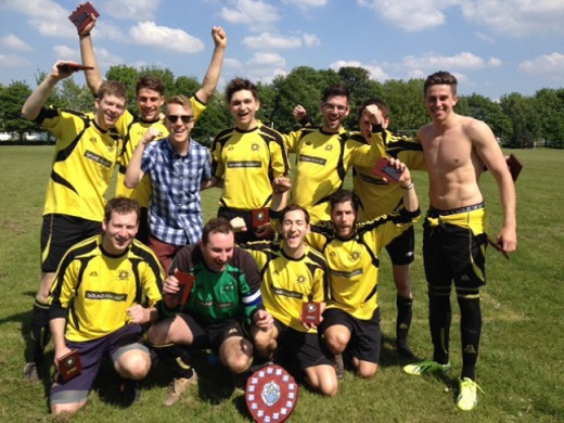 2013-14 MJSL 7-a-side Winners - Haroldeans