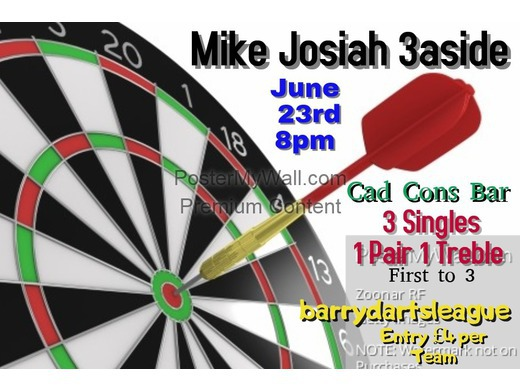 Mike Josiah 3 a side cup