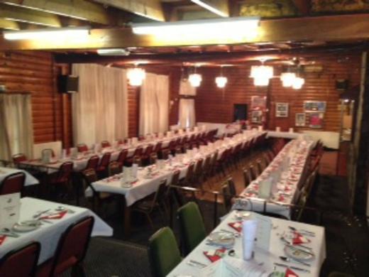 Function Room for Sportsman Dinner