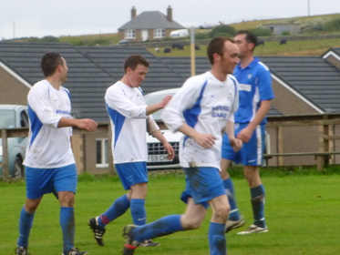 Another goal for South Ronaldsay to celebrate