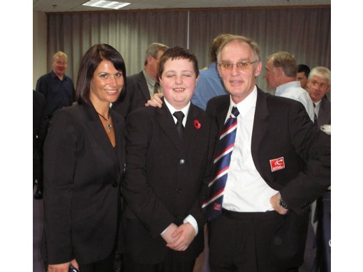 Young Craig Dylan with  Michaela  and Leo: Glenrothes 2010