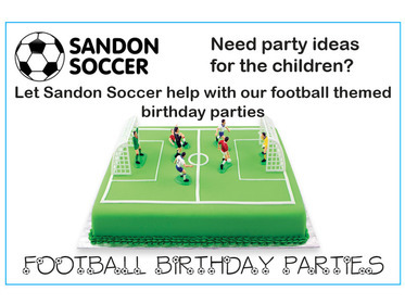 Sandon Soccer - Birthday Parties