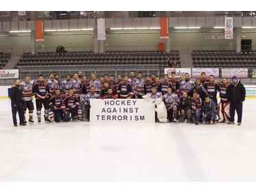 l'hockey contro il terrorismo