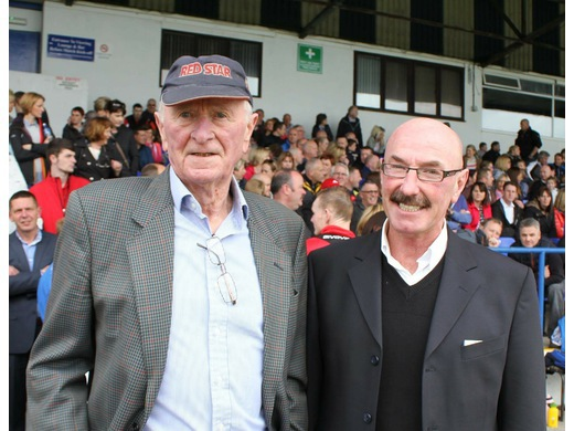 Harry and HGF Patron Liam Beckett