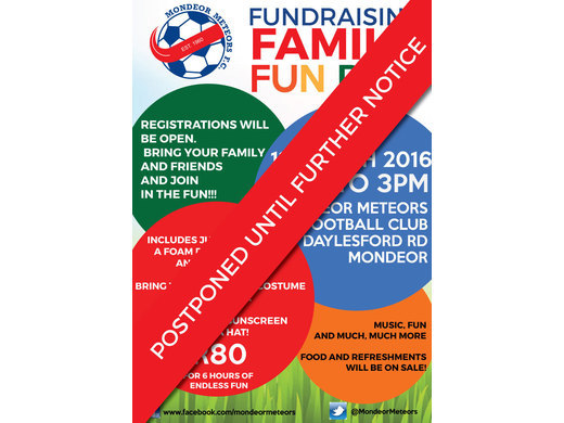 Fun Day Postponed