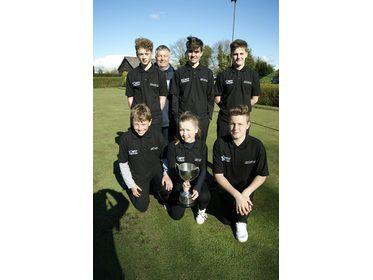 The victorious Ludlow Junior Team!