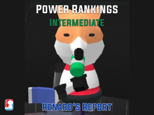 Intermediate Power Rankings - Week 3 - Renard's Report