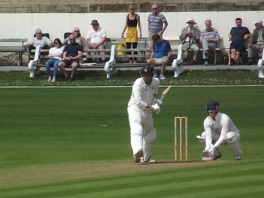 Pro Chris Schofield on his way to a patient 55*