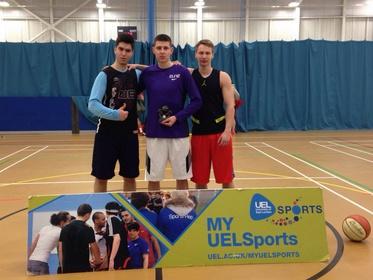 3v3 Basketball Tournament 3 Winners