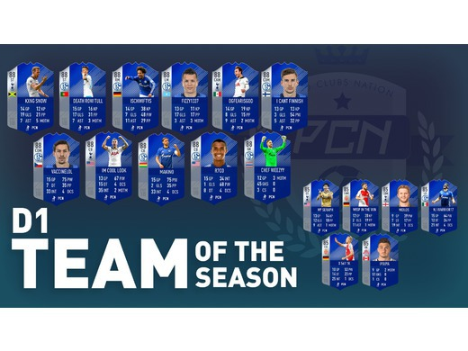 Season 6 Division 1 Team of the Season