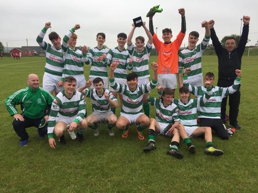 Dunmanway win the U17 Cup